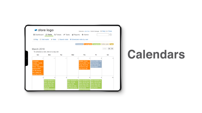 Compliantia-calendars