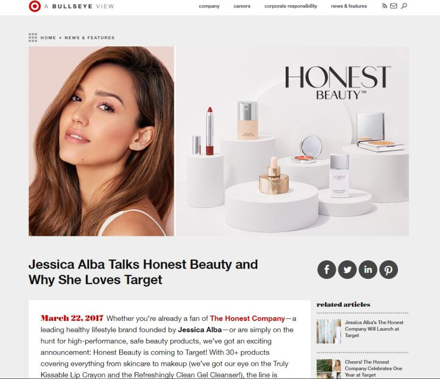 Target and Honest Blog