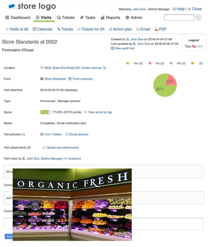 Compliantia Retail Audit Visit Picture (2)